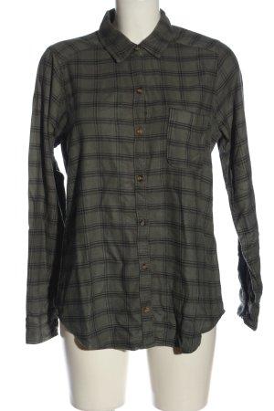 Hollister Chemise de bûcheron gris clair-noir motif à carreaux