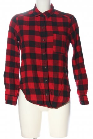 Hollister Lumberjack Shirt red-black allover print casual look