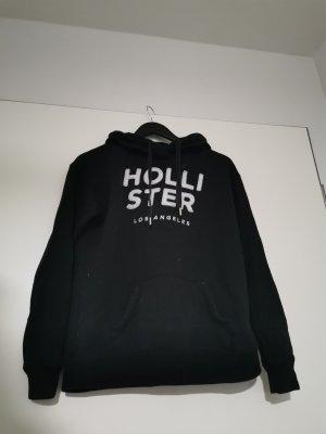 Hollister Pull à capuche blanc-noir