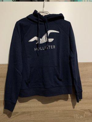 Hollister Capuchon sweater donkerblauw