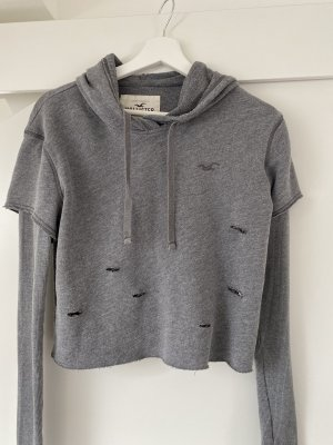 Hollister Hoodie mit cut outs