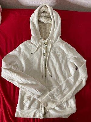 Hollister hoodie / Pullover mit Fell Gr.M
