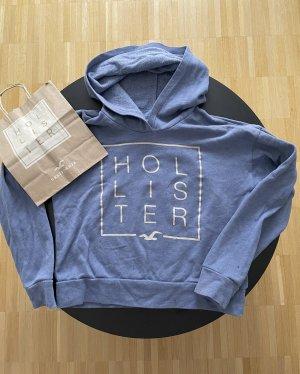 Hollister Sweter z kapturem niebieski-błękitny