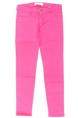 Hollister Hose Größe W27 pink aus Baumwolle