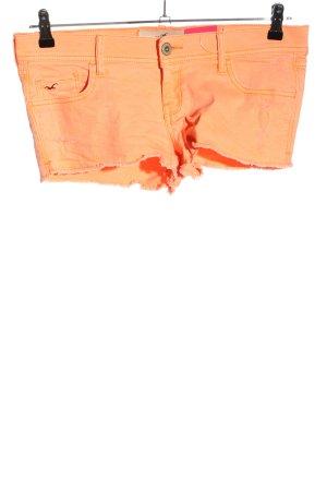 Hollister Hot Pants hellorange Casual-Look