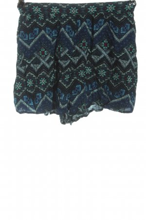 Hollister Hot Pants grafisches Muster Casual-Look