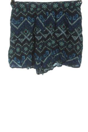 Hollister Krótkie szorty Graficzny wzór W stylu casual
