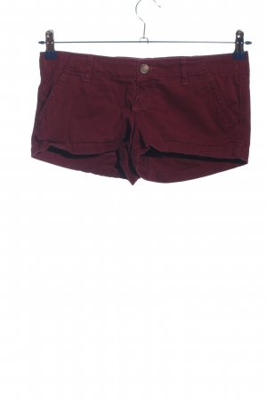 Hollister Hot Pants braun Casual-Look