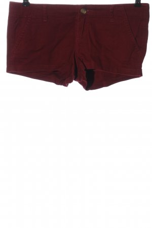 Hollister Hot pants rood casual uitstraling