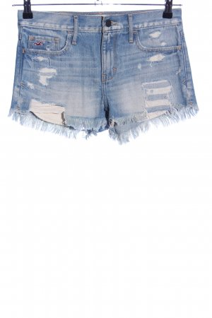 Hollister Hot Pants blau Casual-Look