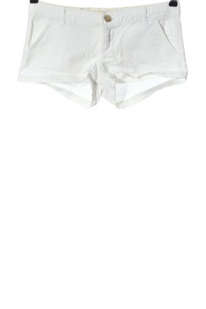 Hollister Hot Pants weiß Casual-Look