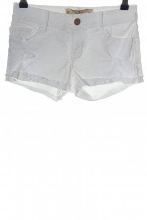 Hollister Hot pants wit casual uitstraling