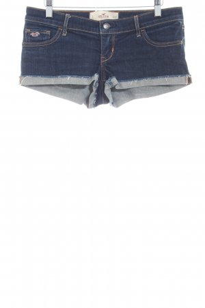 Hollister Hot Pants dunkelblau Casual-Look