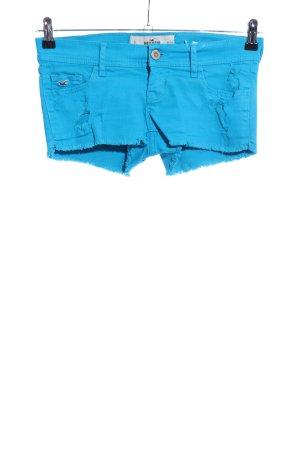Hollister Krótkie szorty niebieski W stylu casual