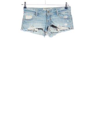 Hollister Hot pants blu stile casual