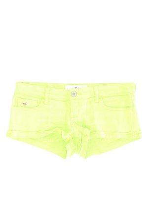 Hollister Hotpants Größe W26 grün aus Baumwolle