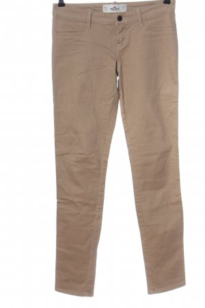 Hollister Low-Rise Trousers brown casual look