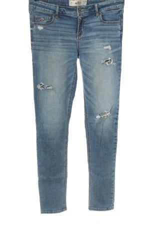 Hollister Jeans taille basse bleu style décontracté