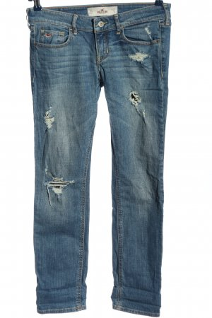 Hollister Low Rise jeans blauw casual uitstraling