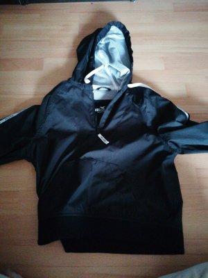 Hollister Softshelljack wit-zwart