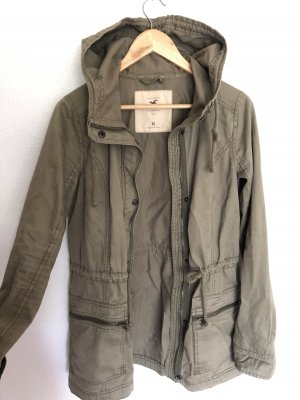 Hollister Safari Jacket green grey-khaki