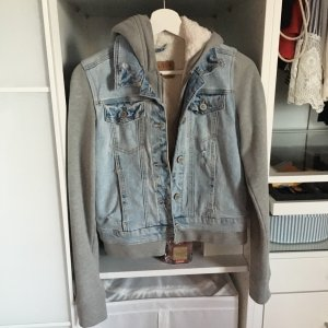Hollister Jacke gefüttert - Jeans Teddyfell