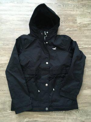 Hollister Jacke Größe S schwarz mit Kapuze