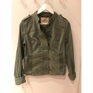 Hollister Militair jack groen-grijs-khaki