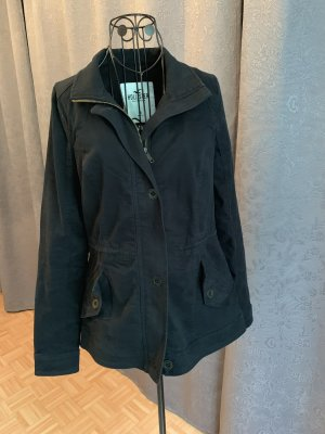 Hollister Naval Jacket dark blue cotton