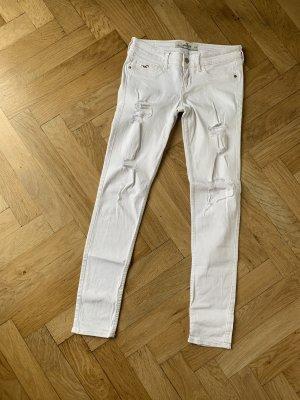 Hollister Jeans skinny blanc