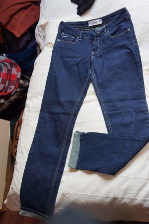 Hollister Low Rise jeans blauw