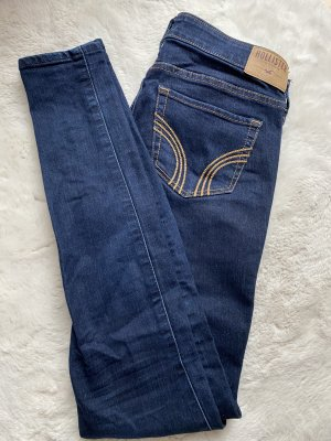 Hollister Jeans cigarette bleu foncé
