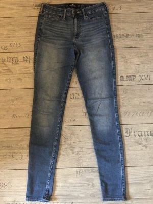 Hollister Skinny Jeans light blue