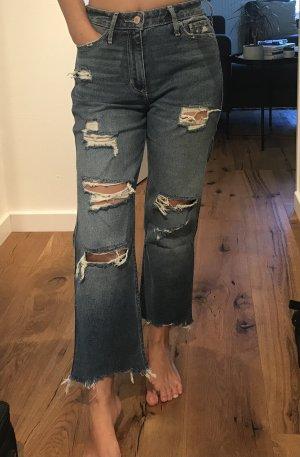 Hollister 7/8 Length Jeans multicolored cotton