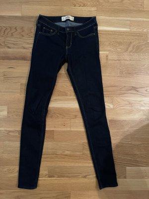 Hollister Skinny Jeans dark blue