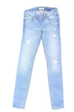 Hollister Jeans blau Größe W24/L31