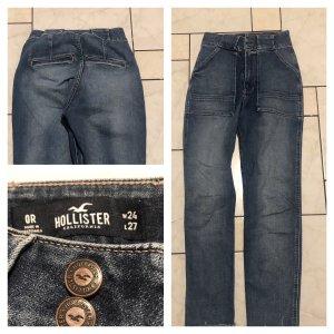 Hollister Jeans dunkel wie Neu W24 L27 XXS