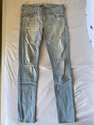 Hollister Jeans skinny azzurro-azzurro