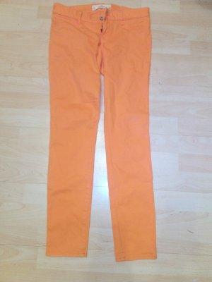 Hollister Pantalone a vita bassa arancione