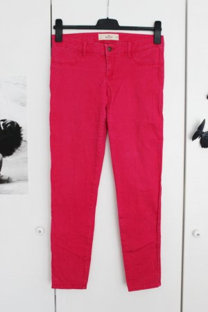 Hollister Jeans hose pink Gr. 7 w28 Stretch