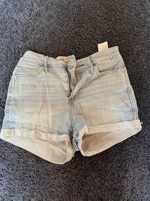 Hollister / Jeans Hotpants in hellblau