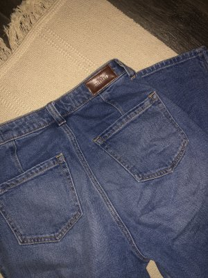 Hollister Hoge taille jeans blauw
