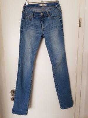Hollister Pantalone elasticizzato azzurro