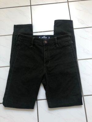 Hollister Jeans a vita alta verde scuro-cachi