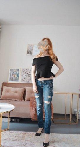 Hollister Jeans mit Strass   xs