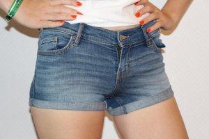 Hollister Jeans Shorts Low rise Gr. 0/W24