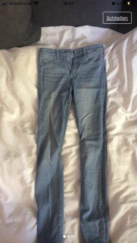Hollister Jeans skinny blu fiordaliso-azzurro