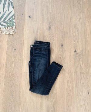 Hollister Jeans stretch bleu foncé