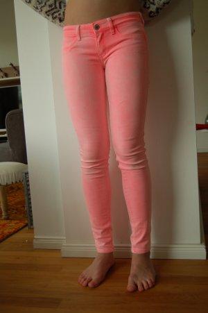 Hollister Jeans W 25 L 29 verwaschen in Rosa