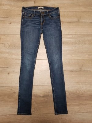 Hollister Jeansy z prostymi nogawkami stalowy niebieski-niebieski
